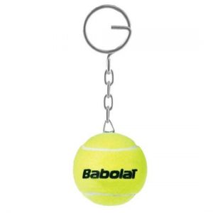 tenis topu anahtarlık
